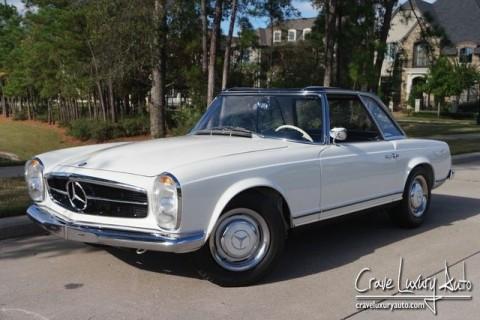1967 BMW 230SL Pagoda restoration for sale