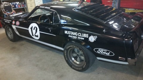 1969 Ford Mustang True Boss 302 Race Car for sale