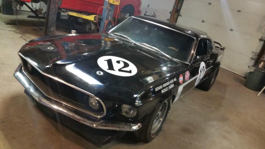 1969 Ford Mustang True Boss 302 Race Car