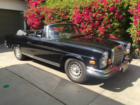 1971 Mercedes Benz 280SE 3.5 CABRIOLET for sale