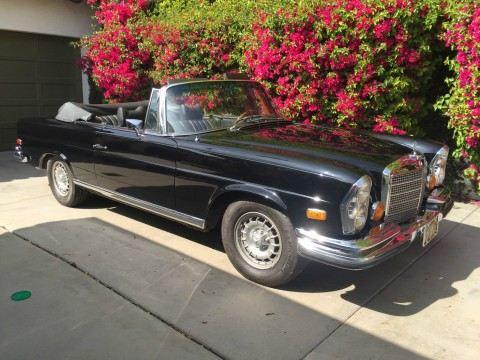 1971 Mercedes Benz 280SE 3.5 CABRIOLET for sale