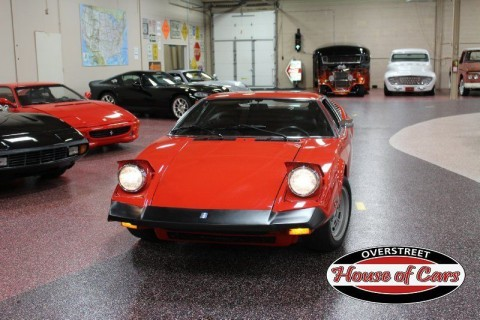 1974 De Tomaso Pantera, #'s Matching, 351ci, 5 Speed ZF for sale