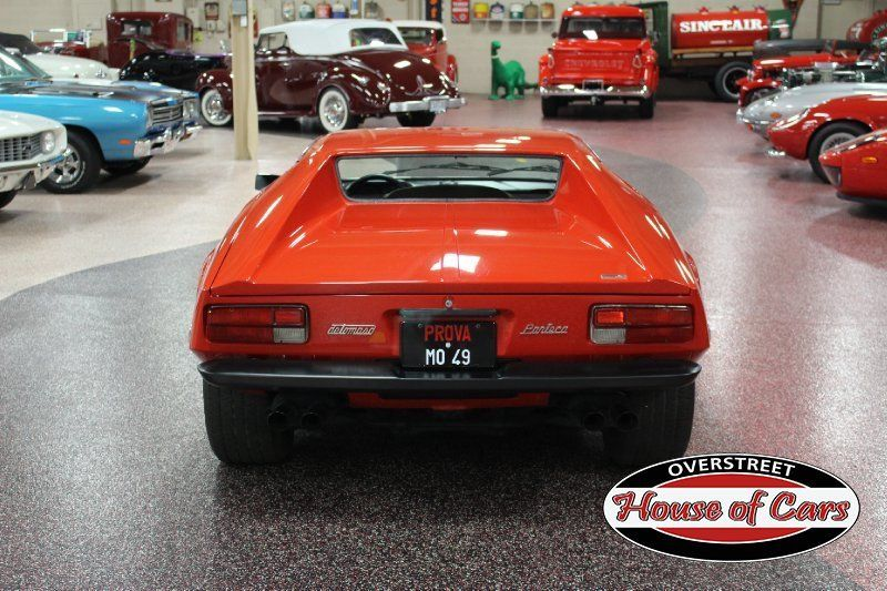 1974 De Tomaso Pantera, #'s Matching, 351ci, 5 Speed ZF