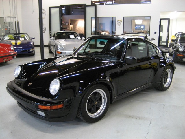 1987 Porsche 911 930 Carrera Turbo Black On Black For Sale