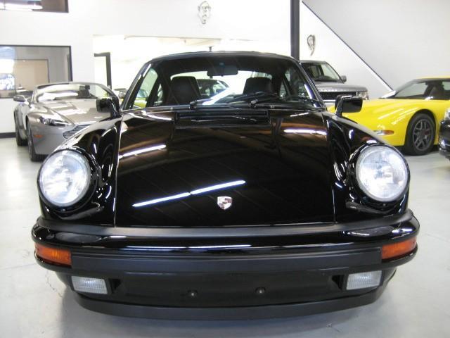 1987 Porsche 911 930 Carrera Turbo Black on Black