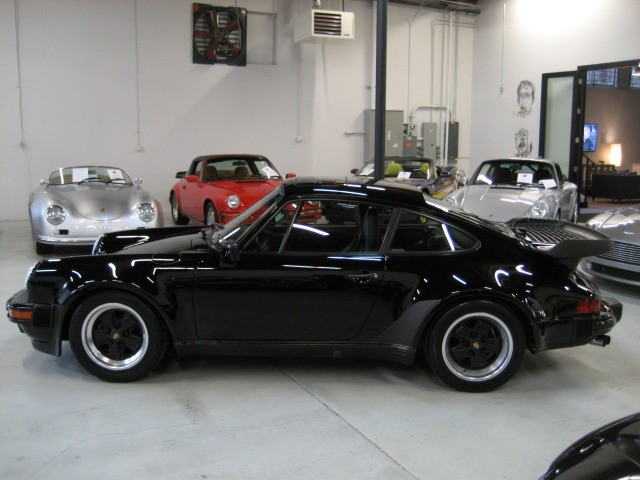 1987 Porsche 911 930 Carrera Turbo Black on Black