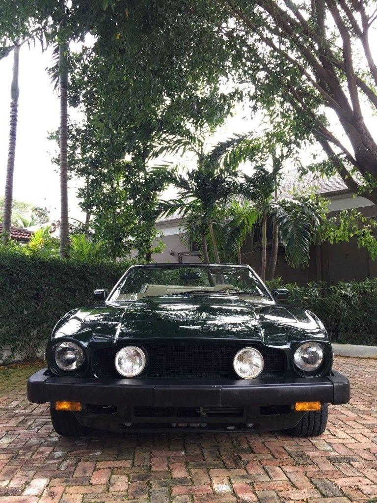 1988 Aston Martin V8 Volante Convertible