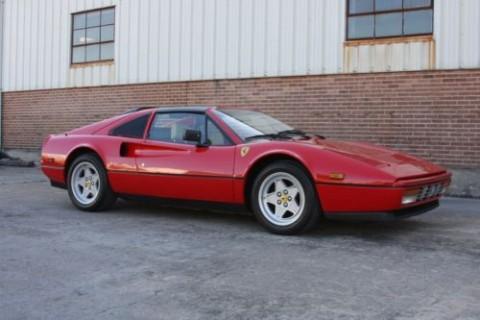 1988 Ferrari 328 Rosso Corsa/Crema for sale