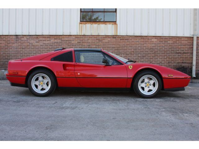 1988 Ferrari 328 Rosso Corsa/Crema