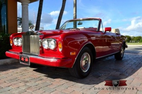 1990 Rolls Royce Corniche for sale