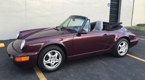 1993 Porsche 911 964 Carrera 2 Convertible for sale