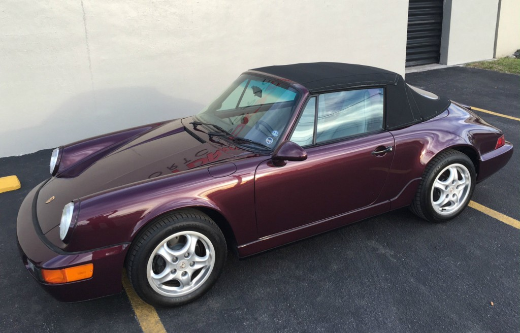 1993 Porsche 911 964 Carrera 2 Convertible