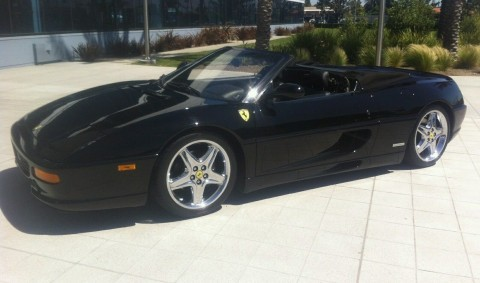 1998 Ferrari F 355 Spider Rare Black on Black for sale