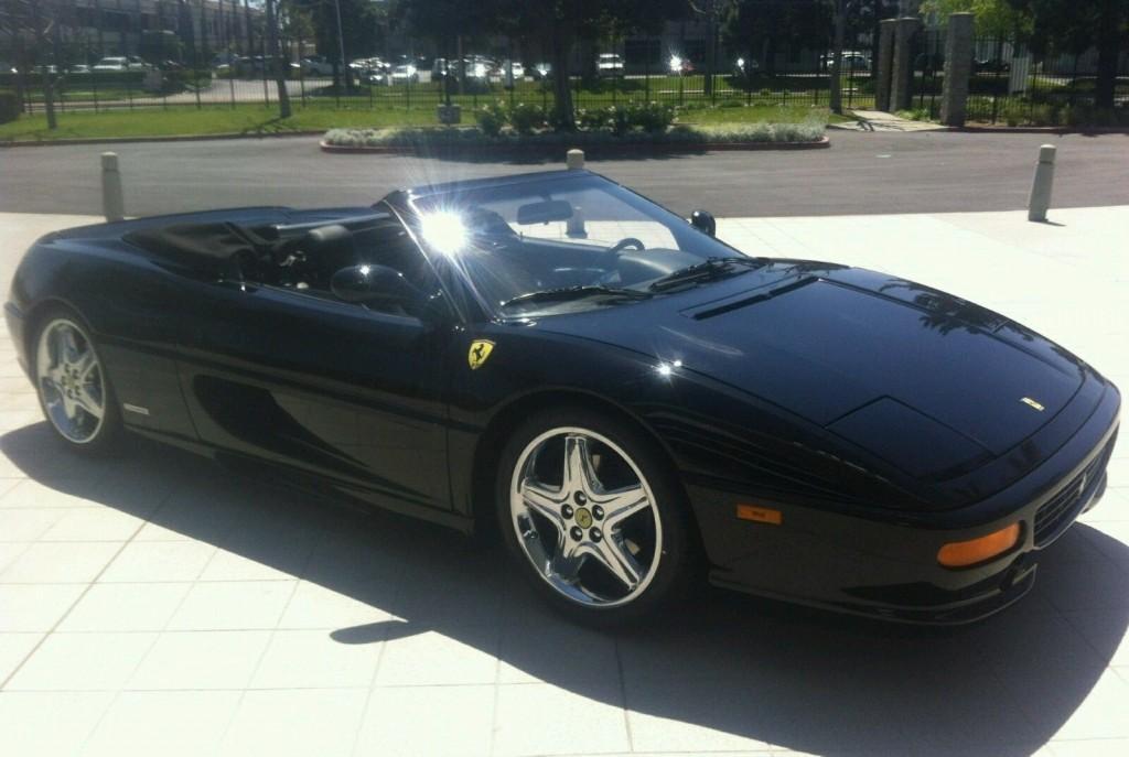 1998 Ferrari F 355 Spider Rare Black on Black