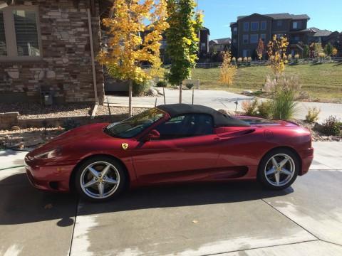 2001 Ferrari 360 F1 Spider Rosso Fiorano for sale