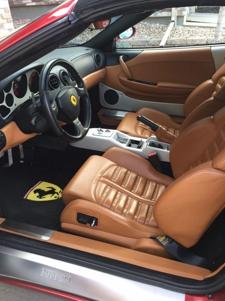 2001 Ferrari 360 F1 Spider Rosso Fiorano
