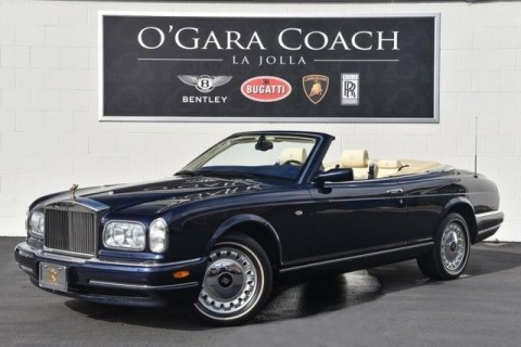 2001 Rolls Royce Corniche 2dr Convertible for sale