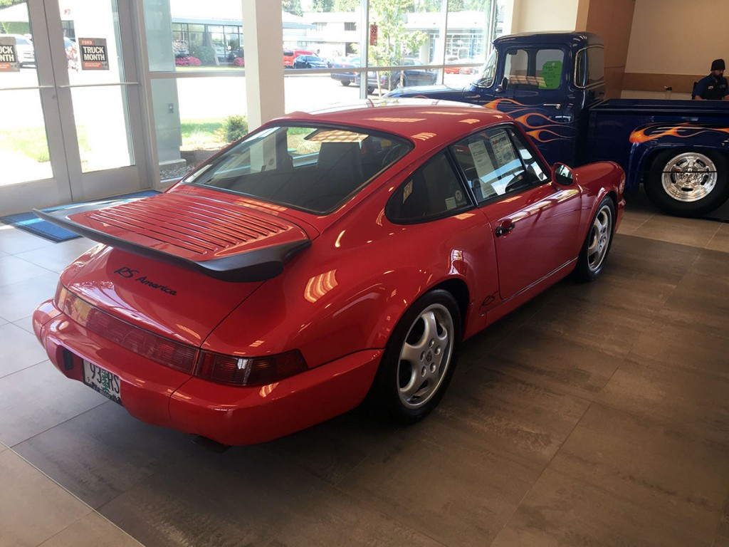 1993 Porsche 911 RS America AWD Carrera 4