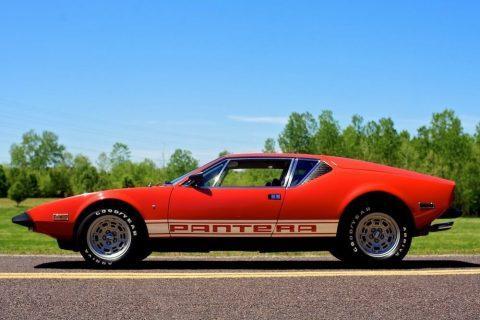 1973 De Tomaso Pantera for sale
