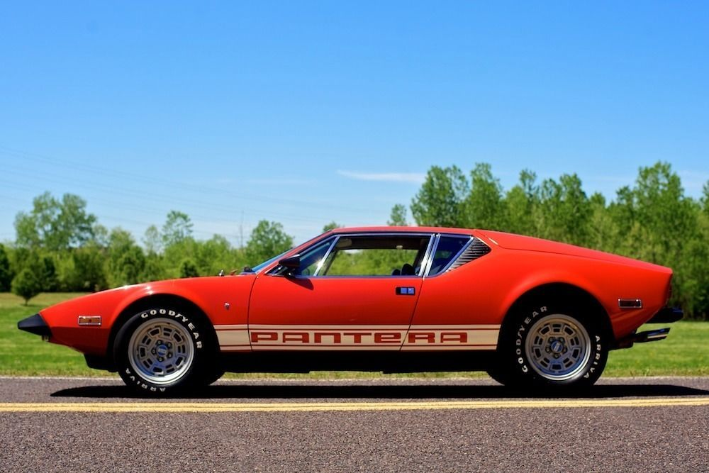 1973 de tomaso pantera for sale. Black Bedroom Furniture Sets. Home Design Ideas