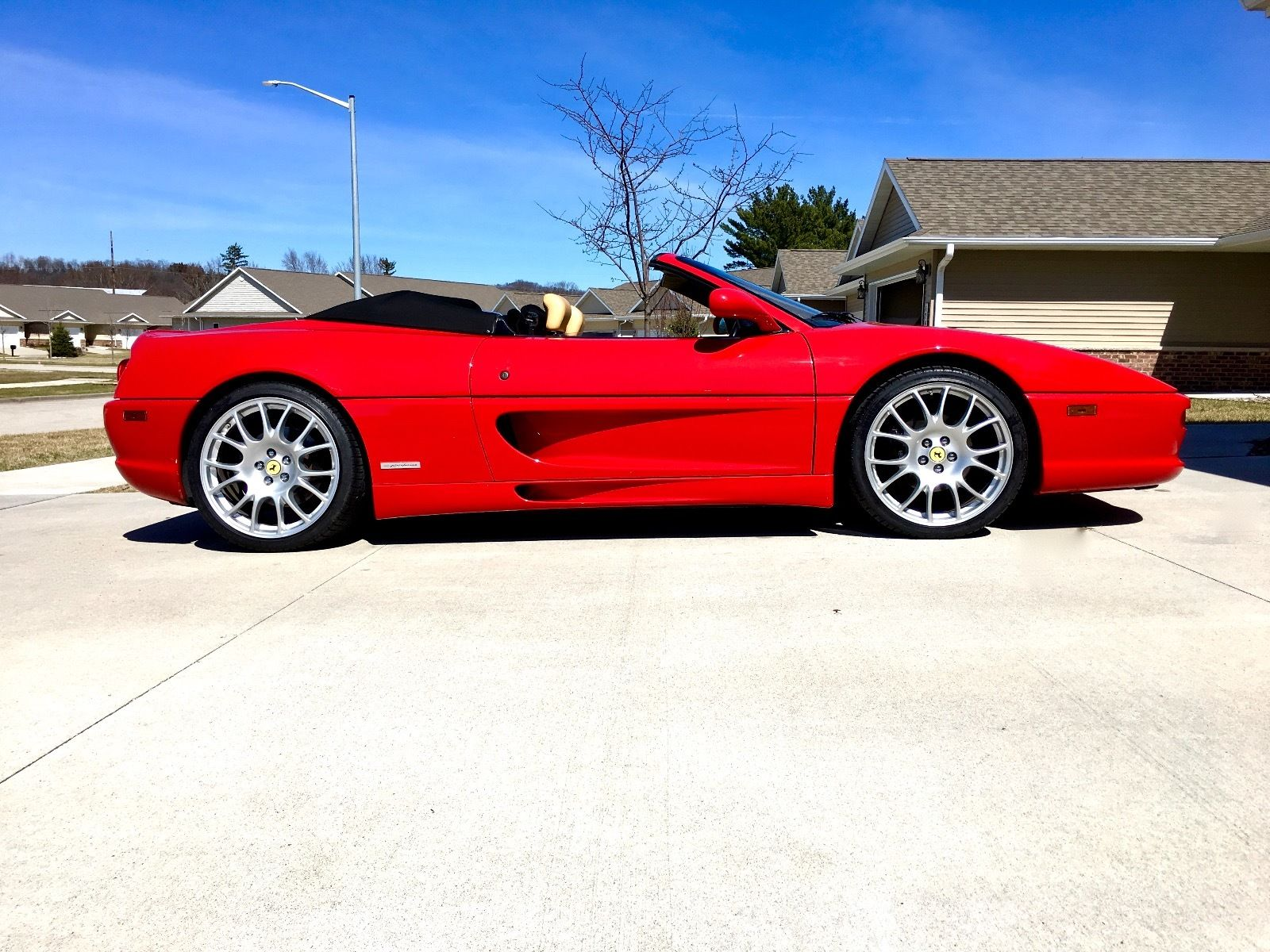 Ferrari Oil Change >> 1997 Ferrari 355 Spider for sale