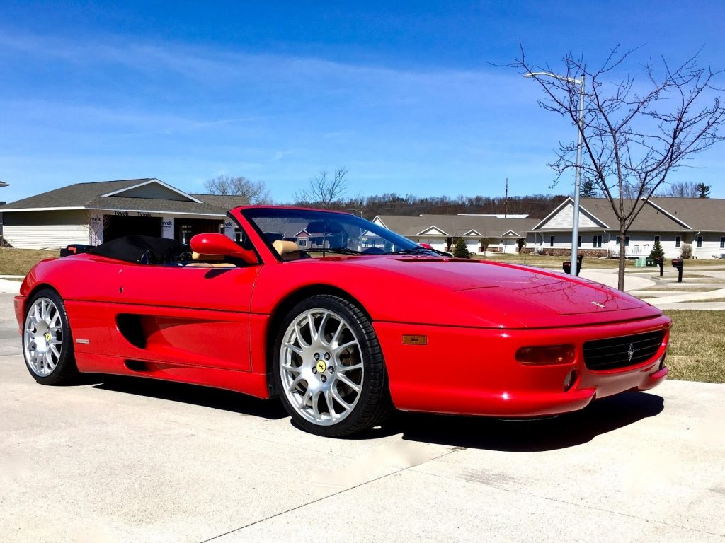 1997 ferrari 355 spider for sale
