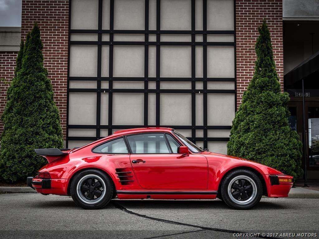 Absolutely stunning 1986 Porsche 911 Carrera Turbo Slantnose