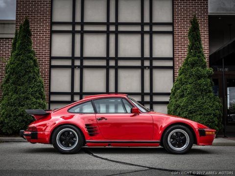 Absolutely stunning 1986 Porsche 911 Carrera Turbo Slantnose for sale