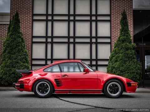 Absolutely stunning 1986 Porsche 911 Carrera Turbo Slantnose for sale