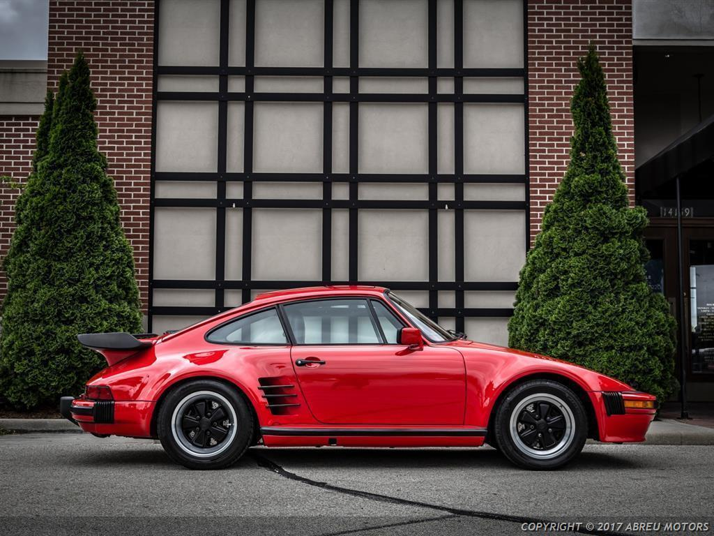 absolutely stunning 1986 porsche 911 carrera turbo slantnose for sale. Black Bedroom Furniture Sets. Home Design Ideas