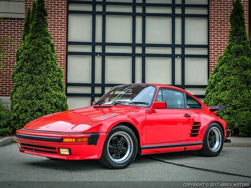 Absolutely stunning 1986 Porsche 911 Carrera Turbo Slantnose