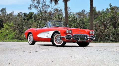 Gorgeous 1961 Chevrolet Corvette Dual Quad Roadster for sale