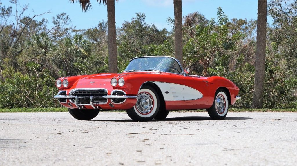 Gorgeous 1961 Chevrolet Corvette Dual Quad Roadster