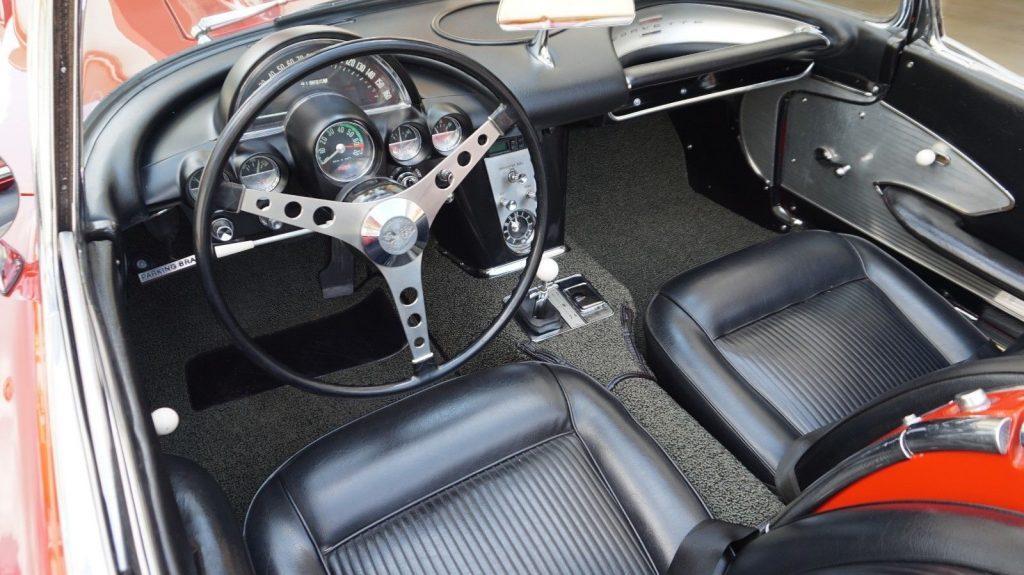 Gorgeous 1961 Chevrolet Corvette Dual Quad Roadster