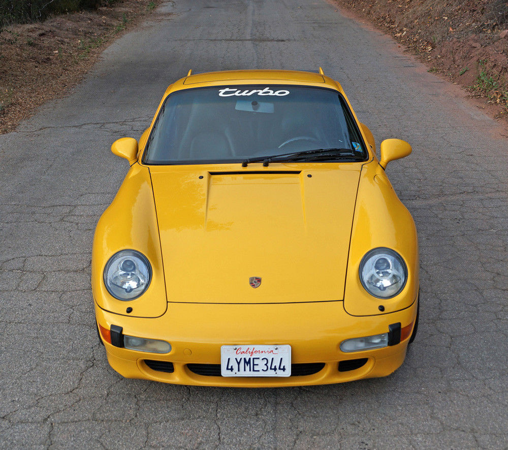 1997 Porsche 911 Turbo (993) Speed Yellow/Black For Sale