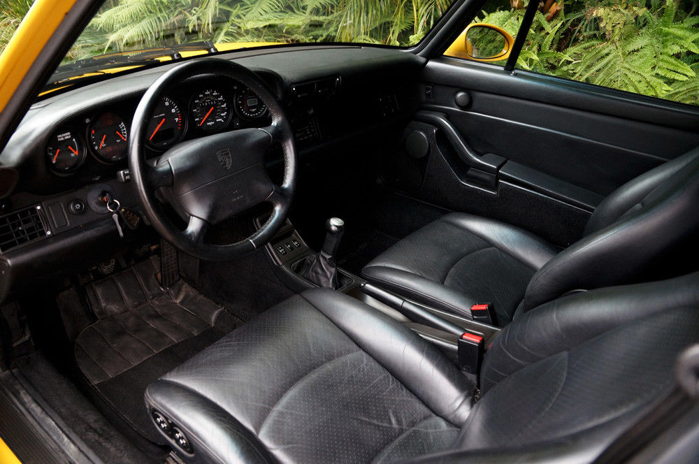 1997 Porsche 911 Turbo (993) Speed Yellow/Black
