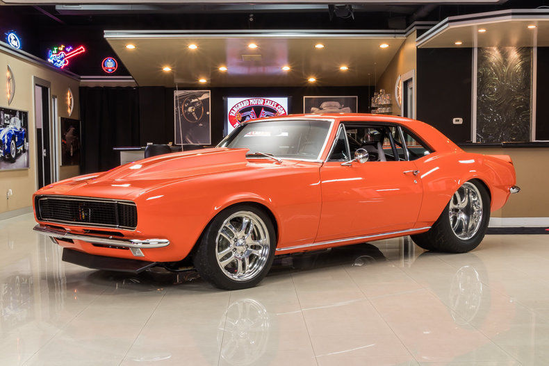 Beautiful 1967 Chevrolet Camaro Pro Street
