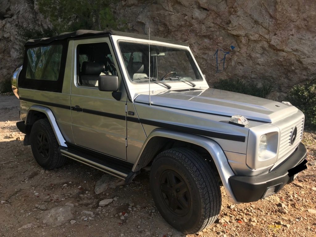 1992 mercedes benz g class in perfect vintage condition for sale. Black Bedroom Furniture Sets. Home Design Ideas