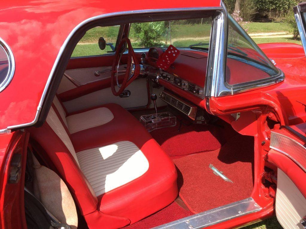 NICE 1956 Ford Thunderbird Chrome