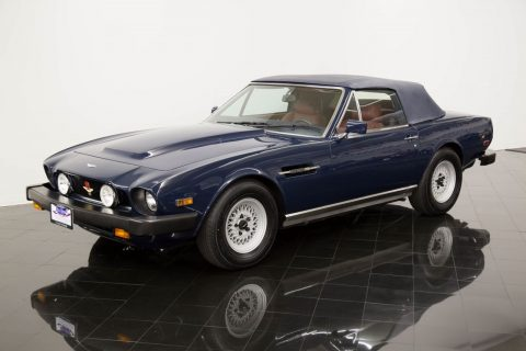 OUTSTANDING 1984 Aston Martin Volante V8 Convertible for sale