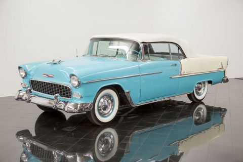 RESTORED 1955 Chevrolet Bel Air/150/210 Convertible for sale