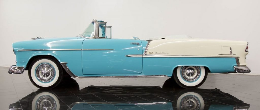 RESTORED 1955 Chevrolet Bel Air/150/210 Convertible