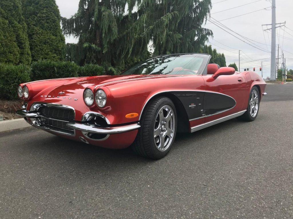 1962 Chevrolet Corvette by CRCoachworks