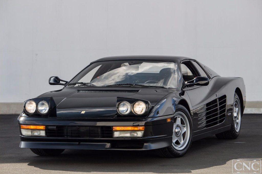 1987 Ferrari Testarossa in Black Only