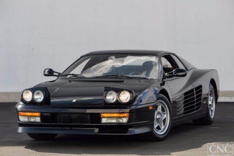 1987 Ferrari Testarossa in Black Only for sale