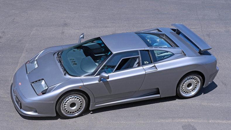 1993 Bugatti EB110 GT '94 Geneva Auto Show Car ~ Quad Turbo V12 Supercar