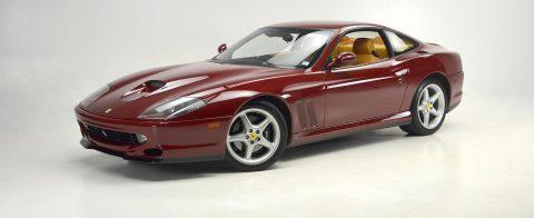 1999 Ferrari 550 Maranello Rosso Barchetta Tan Maintained Properly for sale