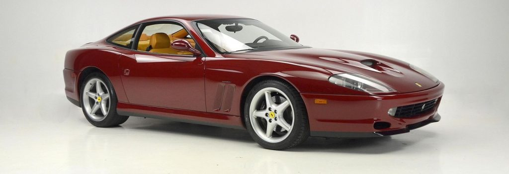 1999 Ferrari 550 Maranello Rosso Barchetta Tan Maintained Properly