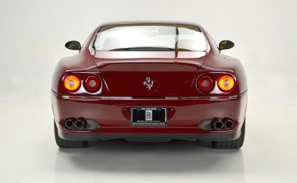 1999 Ferrari 550 Maranello Rosso Barchetta Tan Maintained Properly
