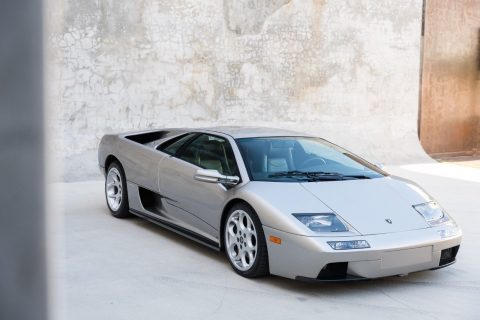 2001 Lamborghini Diablo 6.0, 6,640 Original Miles, Grigio for sale